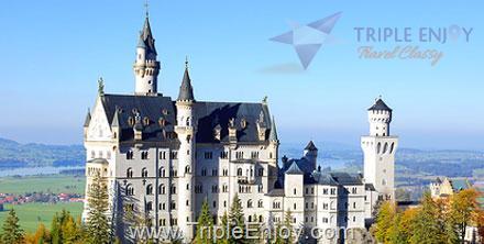 TE014  : โปรแกรมทัวร์ยุโรป เยอรมัน บาวาเรีย ทิโรล 9 วัน 6 คืน (TG)