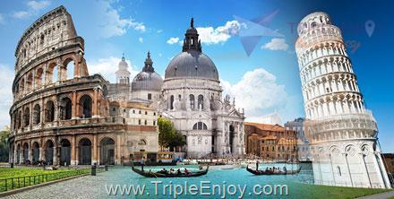 TE043  : โปรแกรมทัวร์ยุโรป แกรนด์อิตาลี มิลาน กรุงโรม 9 วัน 6 คืน (TG)