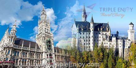 TE022  : โปรแกรมทัวร์ยุโรป แกรนด์เยอรมัน 10 วัน 7 คืน (TG)