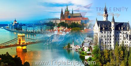 TE047  : ทัวร์ยุโรปตะวันออก เยอรมนี ออสเตรีย เช็ก สโลวาเกีย ฮังการี 10 วัน 7 คืน (TG)