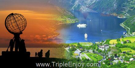 TE064  : ทัวร์ยุโรป สแกนดิเนเวีย เดนมาร์ก นอร์เวย์ (ไกแรงเกอร์ฟยอร์ด) ฟินแลนด์ สวีเดน 13 วัน 10 คืน (TG)