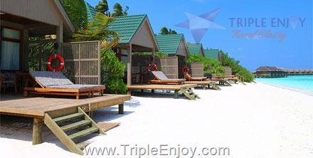 TE076  : ทัวร์มัลดีฟส์ 4 วัน 2 คืน (UL) [ พัก Meeru Island Resort Maldives ]