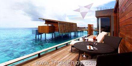 TE084  : ทัวร์มัลดีฟส์ แพ็คเกจทัวร์มัลดีฟส์ 5 วัน 3 คืน (UL) [ พัก PARK HYATT MALDIVES HADAHAA ]