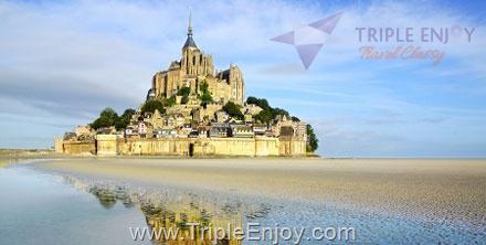 TE090  : โปรแกรมทัวร์ยุโรป ฝรั่งเศส 7 วัน 4 คืน (TG)