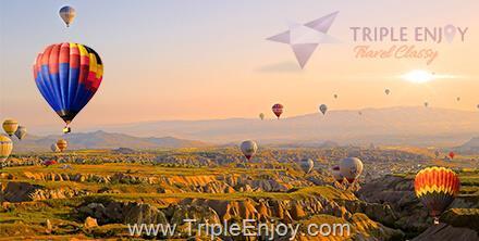 TE029  : โปรแกรมทัวร์ตุรกี อิสตันบูล Luxury RIVIERA [บินตรง+บินภายใน 2 ครั้ง] 8 วัน 5 คืน (TK)