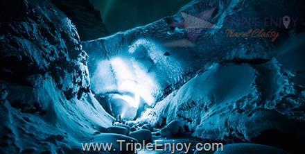 TE124  : โปรแกรมทัวร์ไอซ์แลนด์ เขาเคิร์คจูเฟล ถ้ำคริสตัล [ล่าแสงเหนือ] 10 วัน 7 คืน (TG)